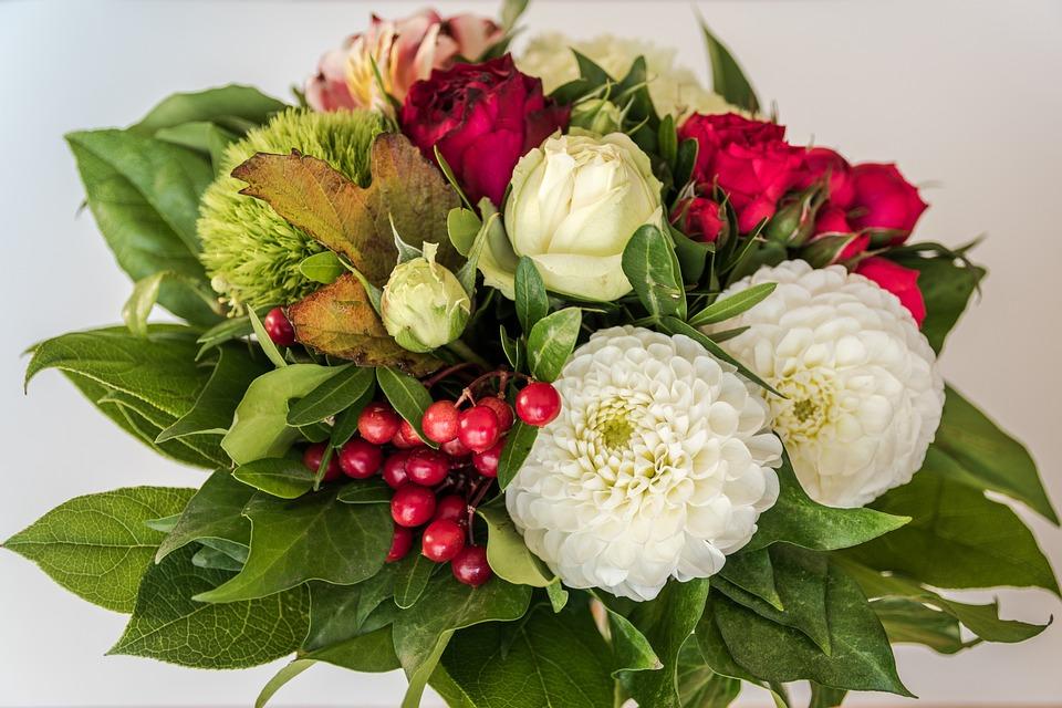 Free photo Birthday Bouquet Flowers Gift Birthday Bouquet - Max Pixel