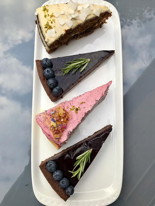 Cake, Pastries, Bake, Cafe, Birthday, Pieces Of Cake