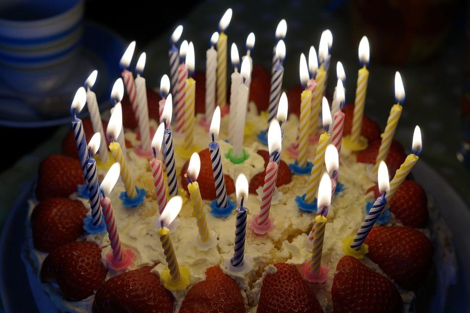 Birthday Cake, Burn, Candles, Candlelight, Age
