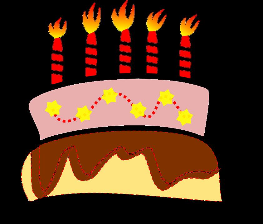 Birthday Cake, Candle, Cake, Birthday, Party