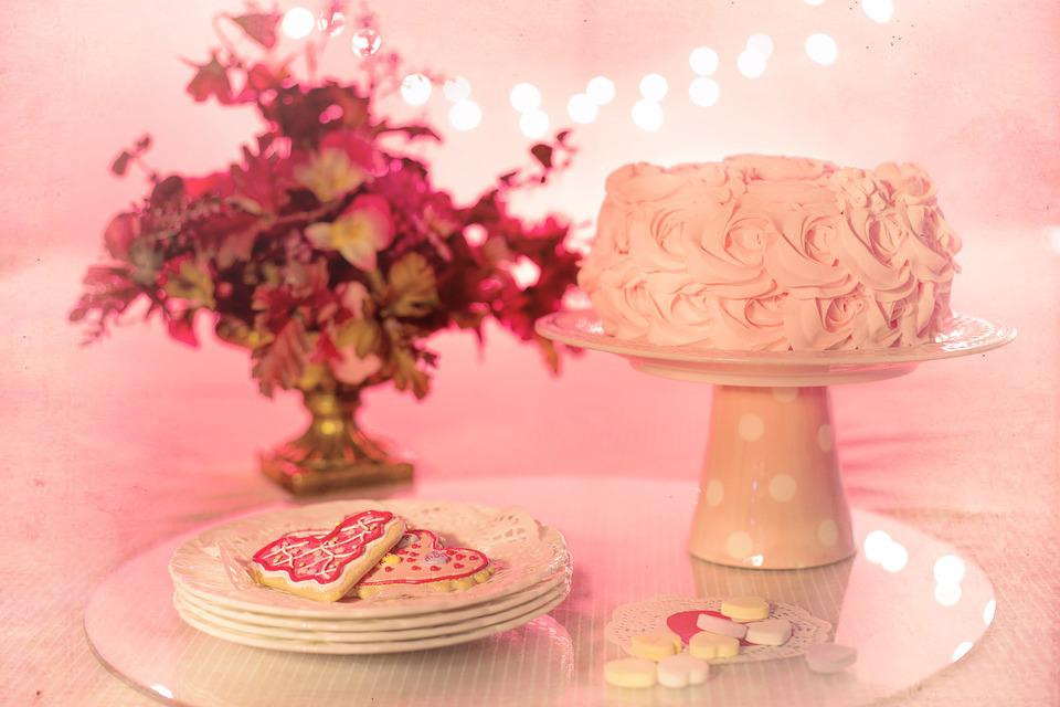 Free Photo Birthday Cake Party Pink Valentines Day Birthday Max Pixel
