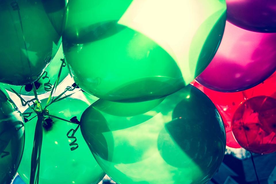 Balloons, Birthday, Celebrate, Celebration