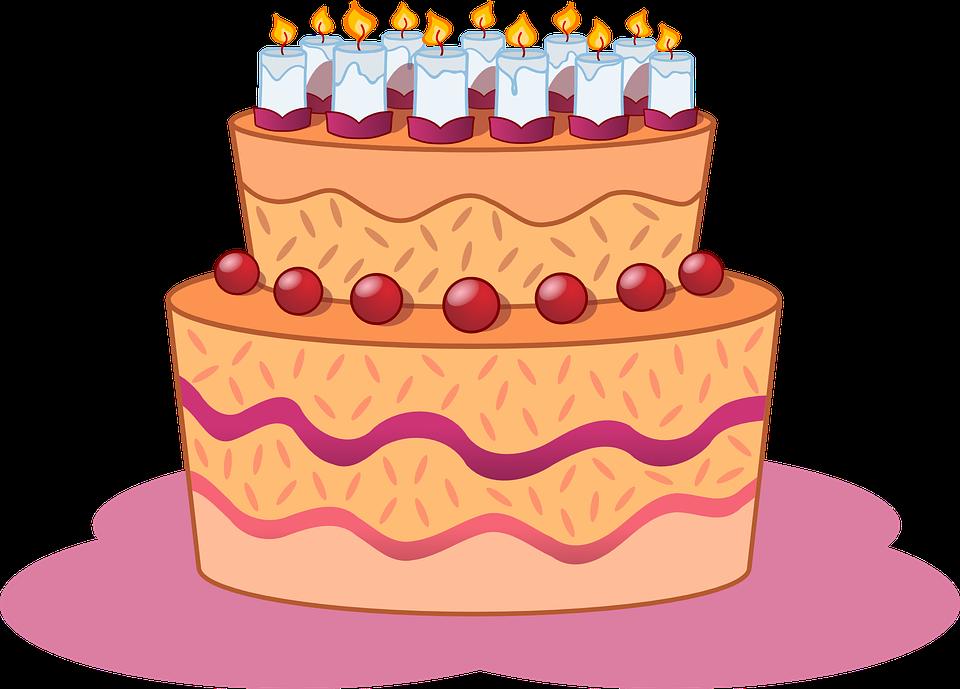 Cake, Birthday, Dessert, Torte, Celebration, Party
