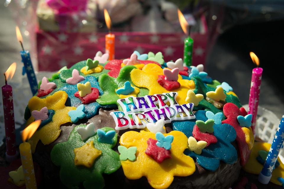 Free Photo Birthday Festival Candles Party Celebration Cake Max Pixel