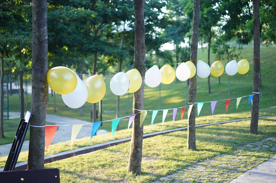 Balloon, Party, Nature, Green, Birthday, Balloons