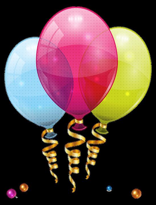 Balloons, Party, Birthday, Celebration, Fun