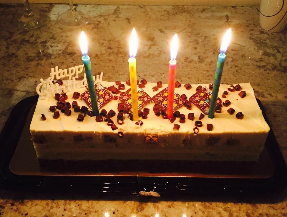 Happy Birthday Party Celebration Cake