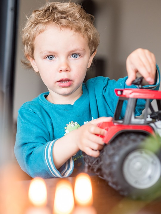 Celebration Birthday Tractor Small Child