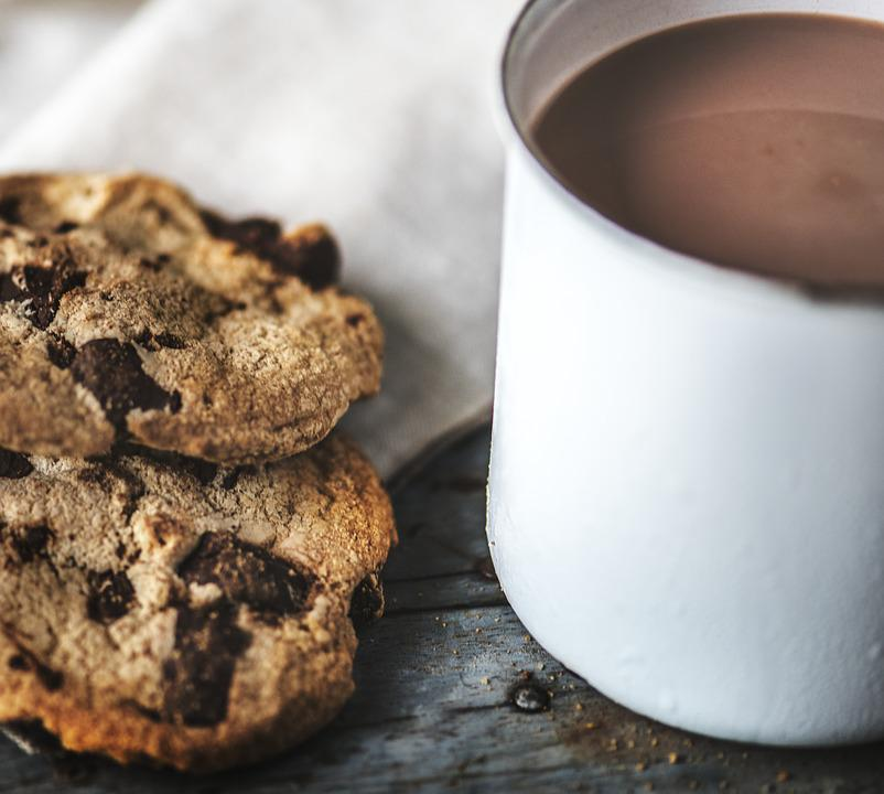 Baked, Beverage, Biscuit, Cacao, Chip, Chocolate