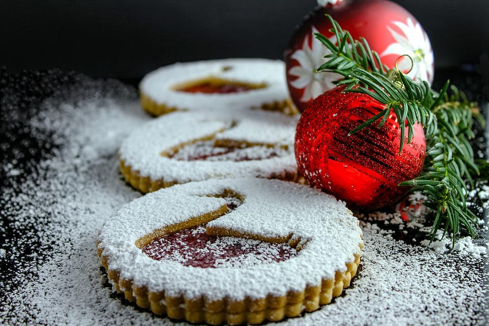 Biscuit, Bake, Christmas, Christmas Bauble, Advent