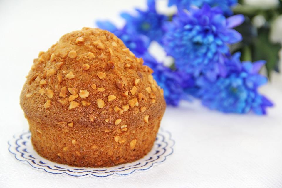 Muffin, Cake, Biscuit, Desktop, Flower, Sweet