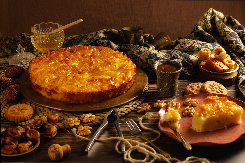 Cake, Pie, Sweet, Dessert, Fruit, Pastries, Biscuit