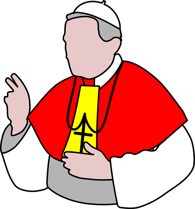 Pope, Bishop, Priest, Catholic, Religion, Church, Cross