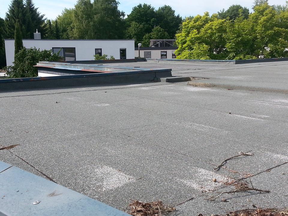 Flat Roof, Bituminous Felt, Sealing, Flat Roofs, Roofs