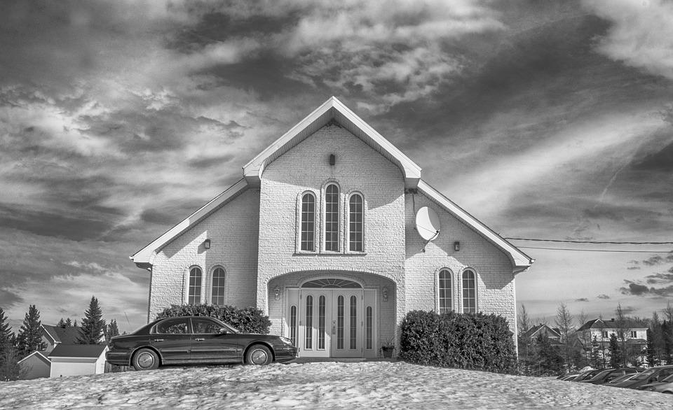 Free photo black and white church b w cloudy hdr max pixel church black and white b w hdr cloudy thecheapjerseys Image collections