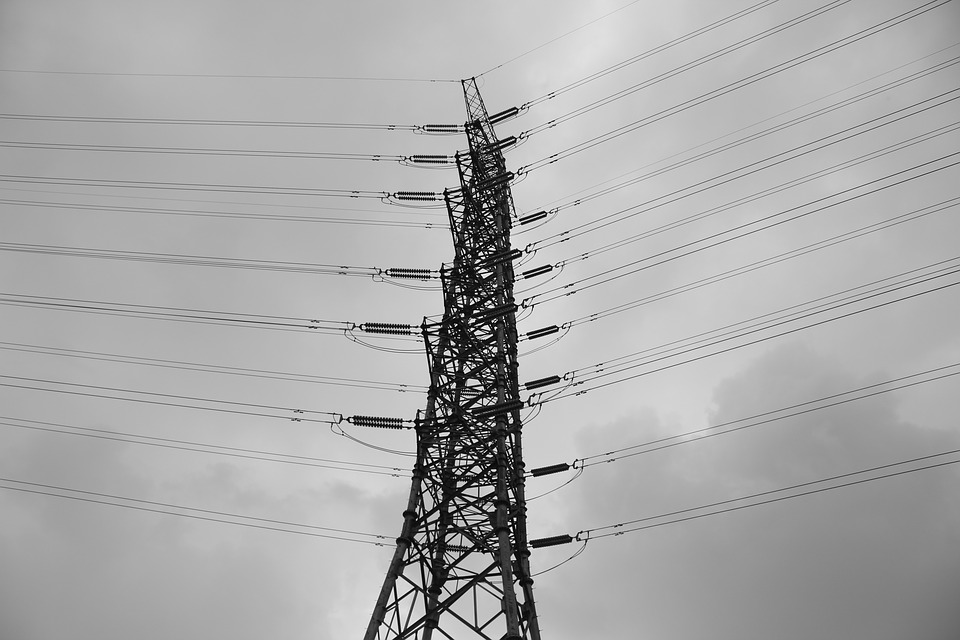 Electricity, Black And White, Photography