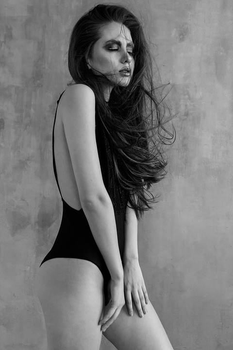 Makeup, Black And White, Girl, Beauty, Fashion, Style
