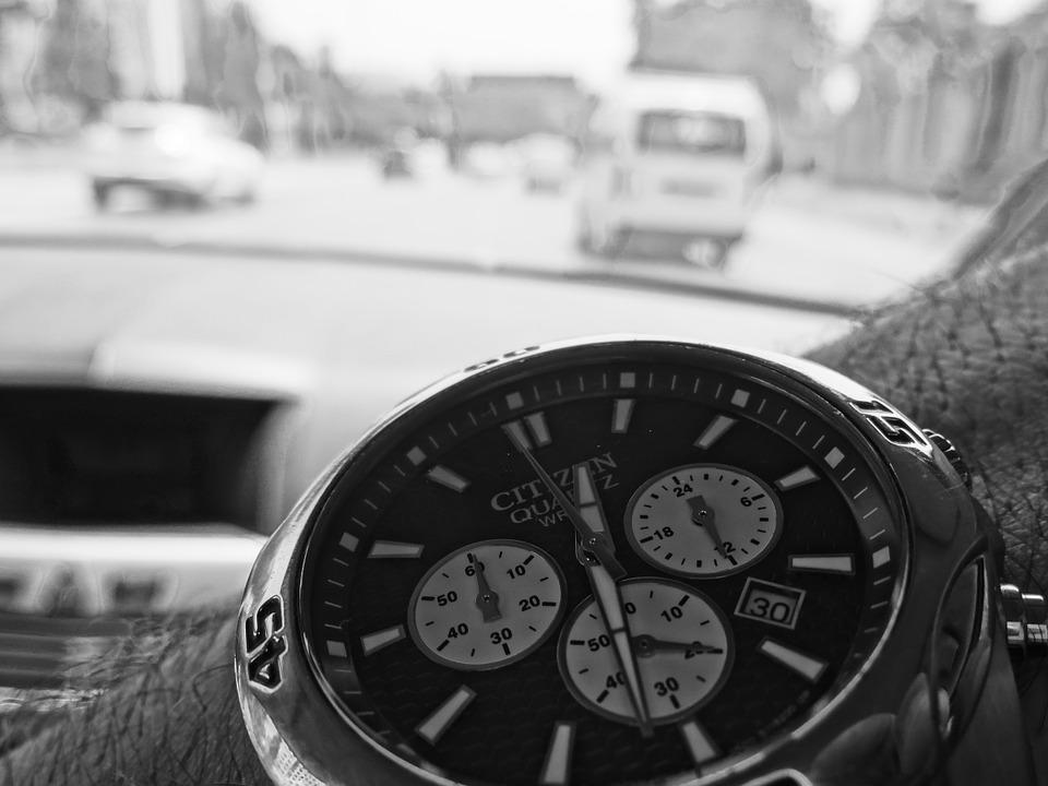 Watch, Picture, Black And White, Black And White Photo