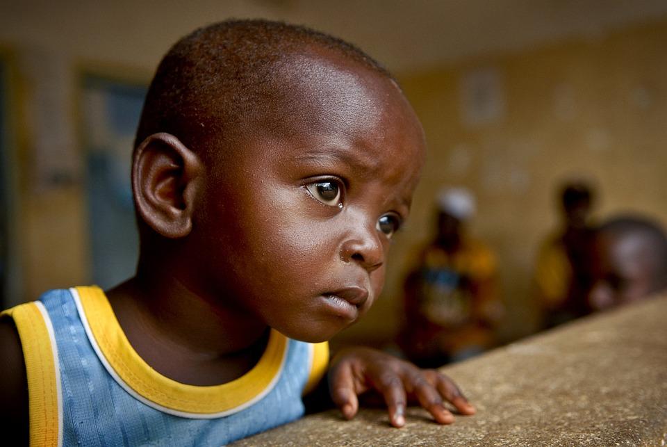 Child, Boy, Portrait, Kid, Young, Black, Tanzanian