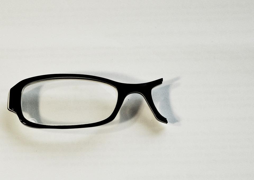 27c41187d0e9 Free photo Black Broken Eyeglasses Frame Lens Vision Glasses - Max Pixel