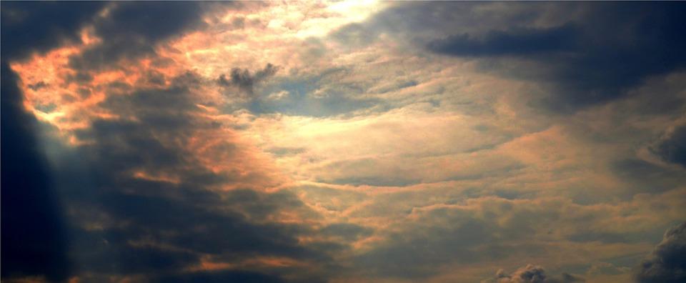 Sky, Dark, Light, Black, Cloud, Dramatic, View, Fantasy