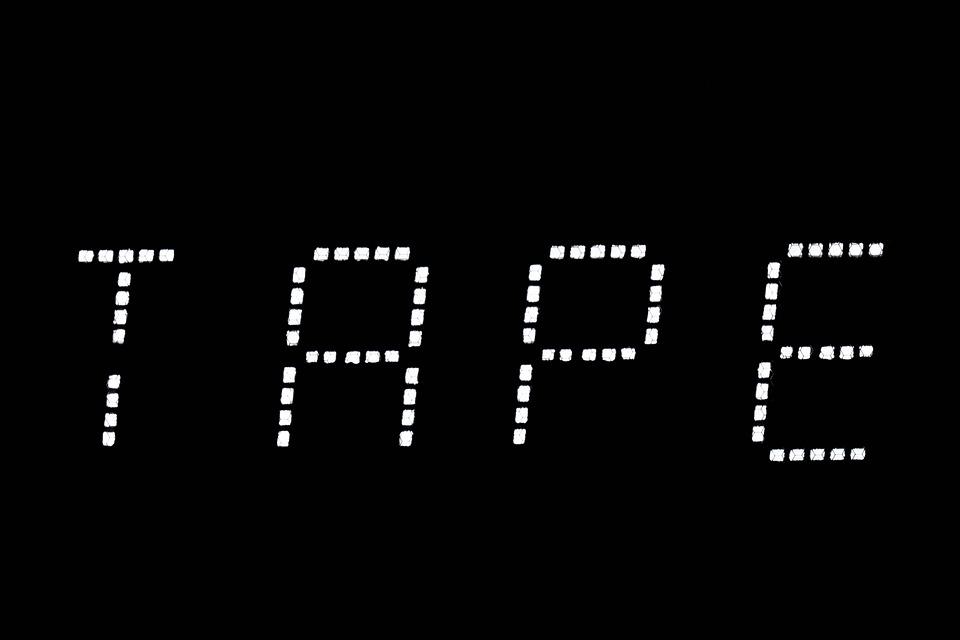 Macro, Light, Shadow, White, Black, Contrast, Tape