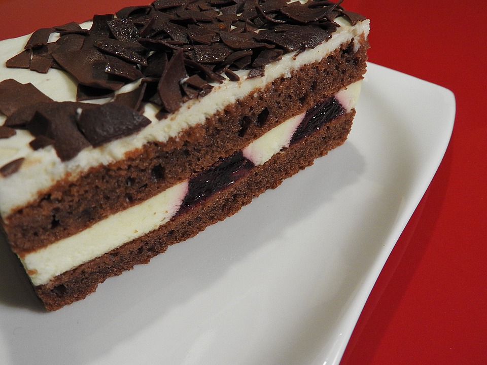 Black Forest Cake, Dessert, Chocolate Chips
