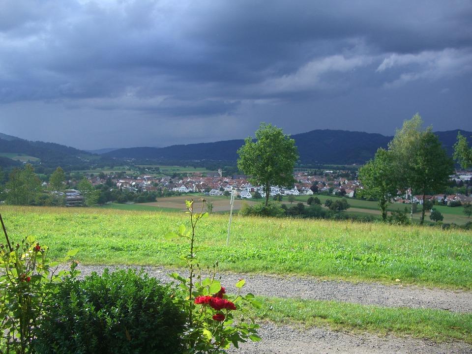 Gamis, Gewitterstimmung, Kirchzarten, Black Forest