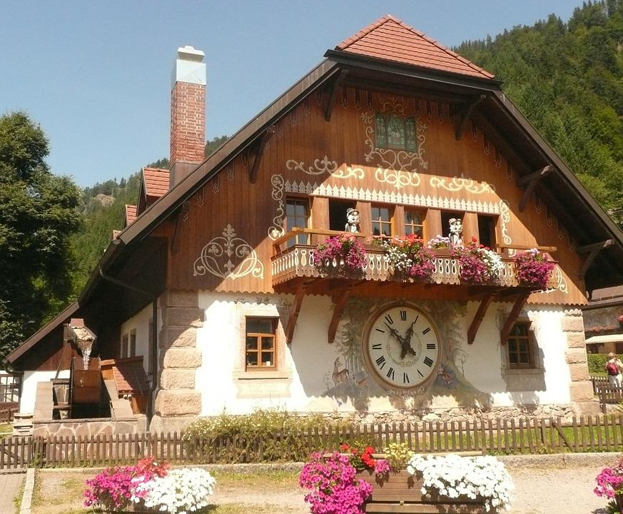 Ravenna Gorge, Input, Cuckoo Clock, Black Forest