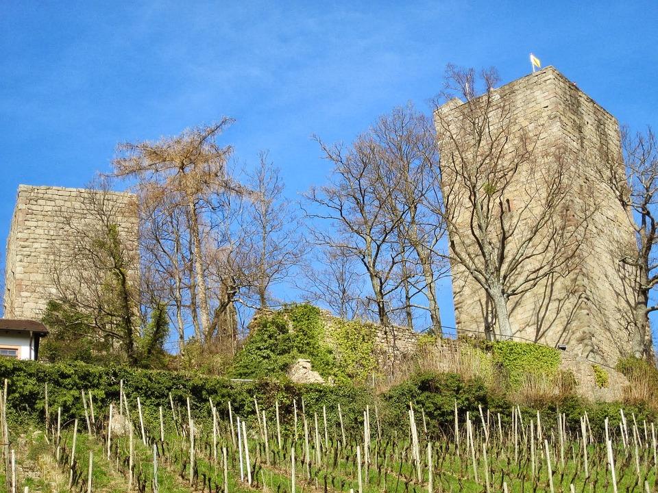 Windeck Castle, Bühl, Swim, Black Forest