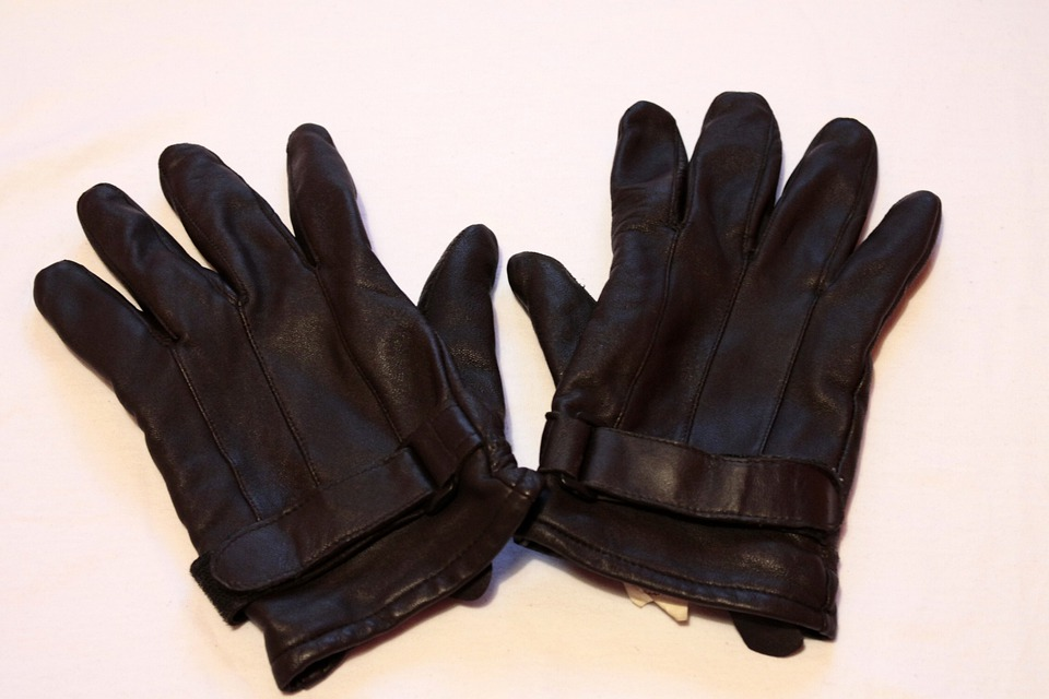 Gloves, Leather, Cold, Black, Glove