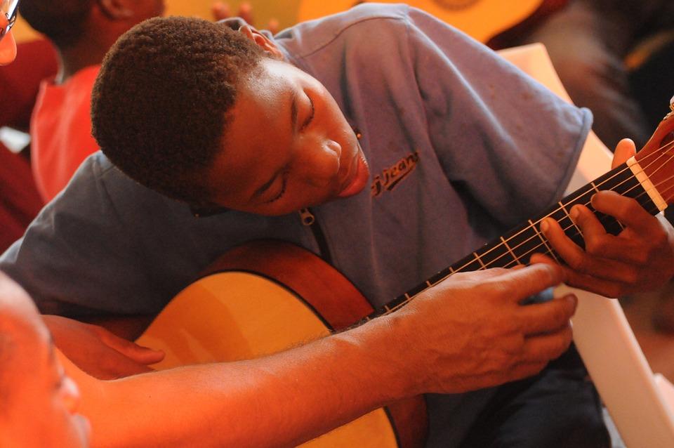 Guitar Lessons, Africa, Black, Music, Culture