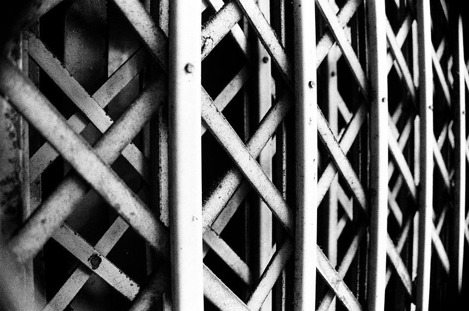 Bw, Fences, Isolation, Black, Cold