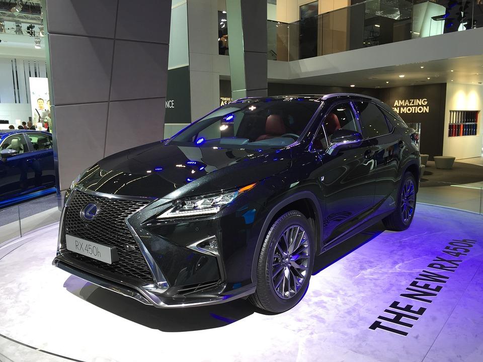 Lexus, Rx 450 H, Hybrid, Luxury, Noble, Dynamic, Black