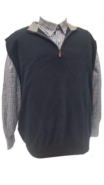 Black, Vest, Fashion, Male, Shirt
