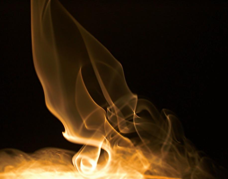 Free Photo Black Orange Smoke Fire Backdrop Background Max Pixel