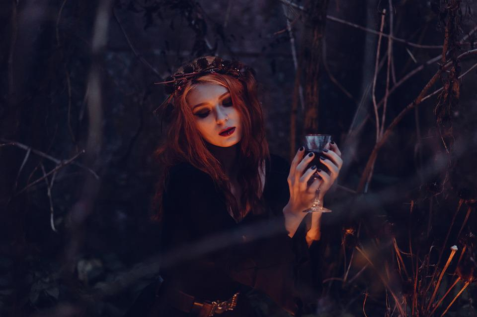 People, Autumn, Black, Black Magic, Blood, Candle