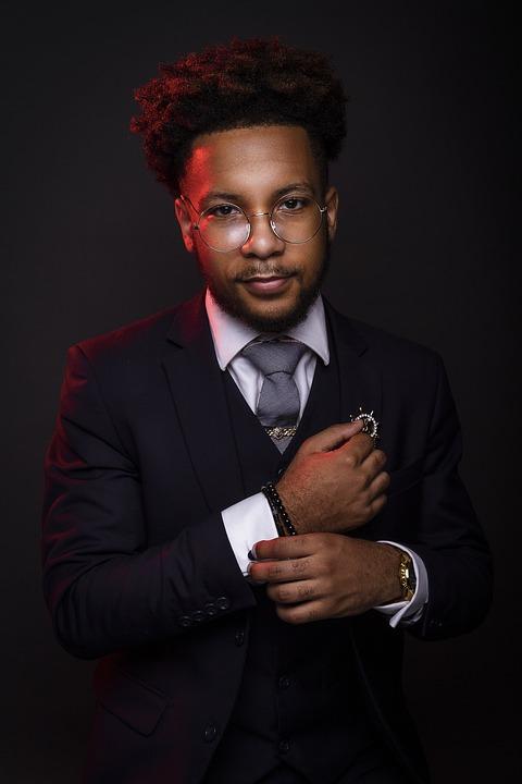 Black Businessman, Black Professional, Professional
