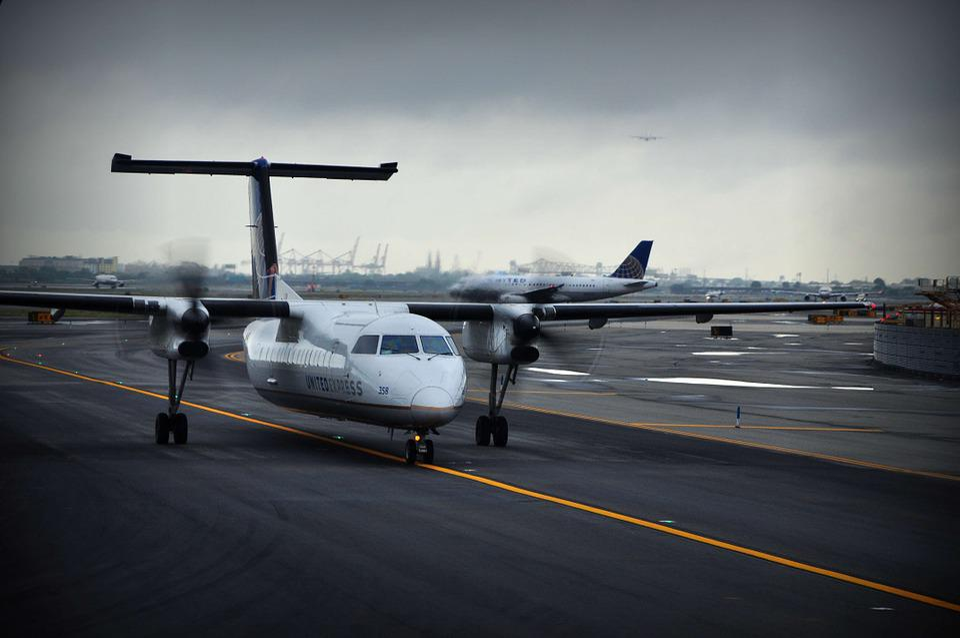 Plane, Storm, Black, Airplane, Jet