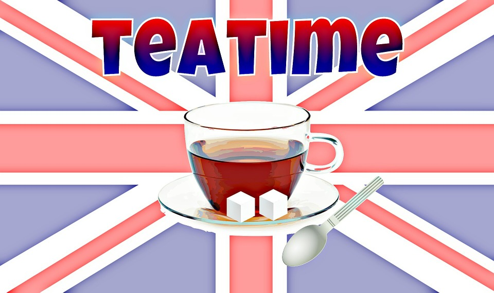 Tee, England, Black Tea, Drink, Cup, Sugar Lumps