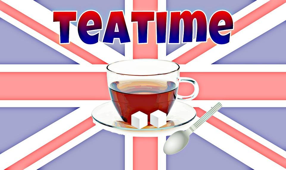 Tee, England, Black Tea, Drink, Cup, Sugar Lumps