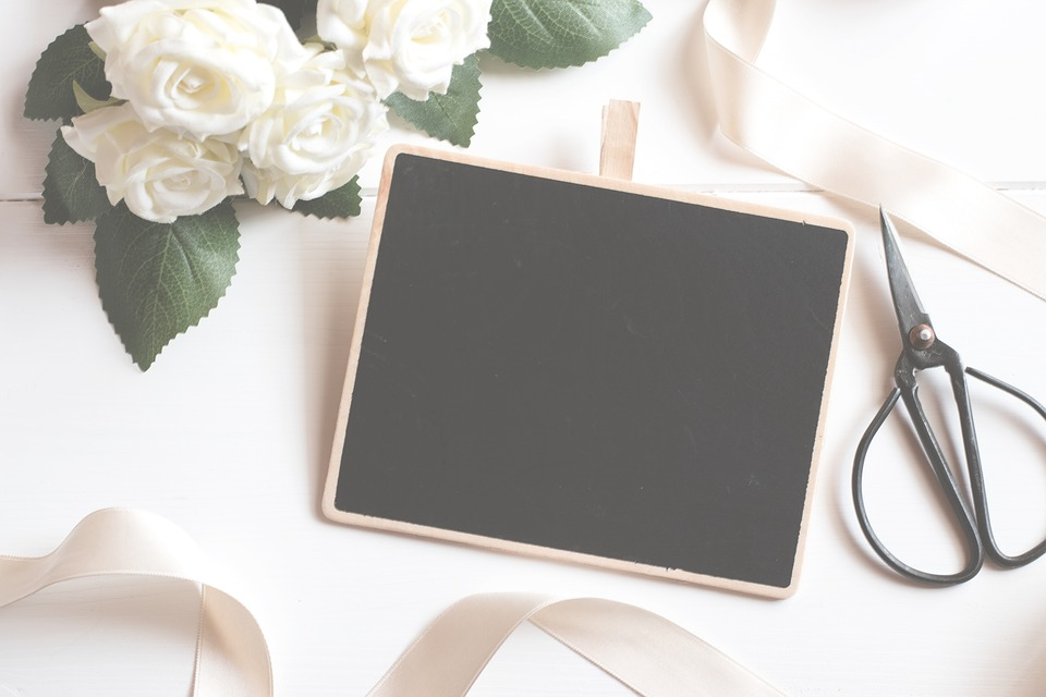 Chalkboard, Blackboard, Board, Picture, Frame, Canvas