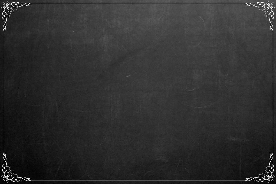 Chalkboard, Background, Decorative, Frame, Blackboard