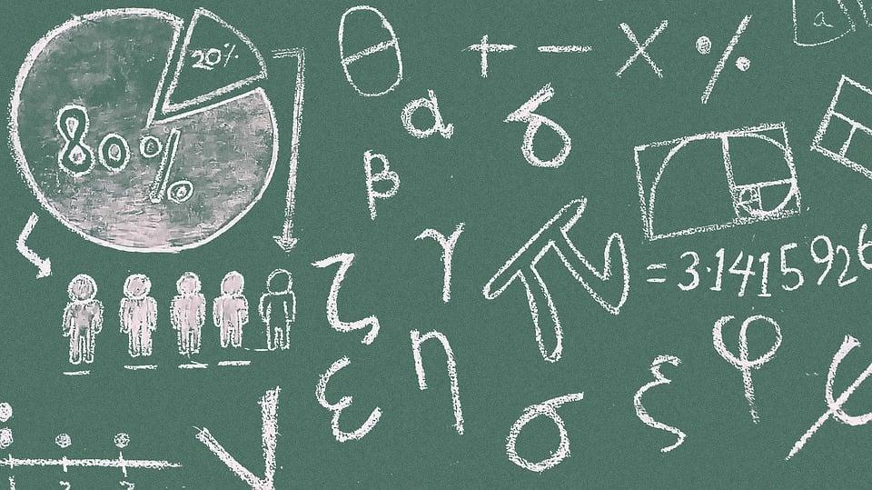 Flow Chart Symbols: Free photo Blackboard Classroom Symbols Lesson Pie Chart Math ,Chart