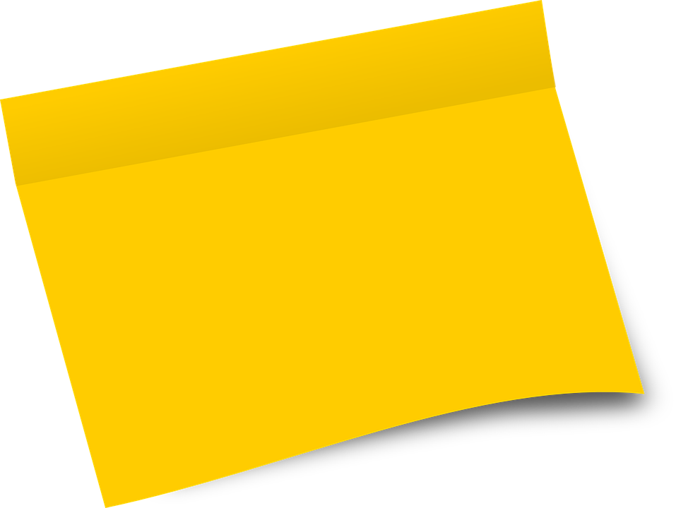 Paper, Office, Sheet, Blank, Yellow, Yellow Office