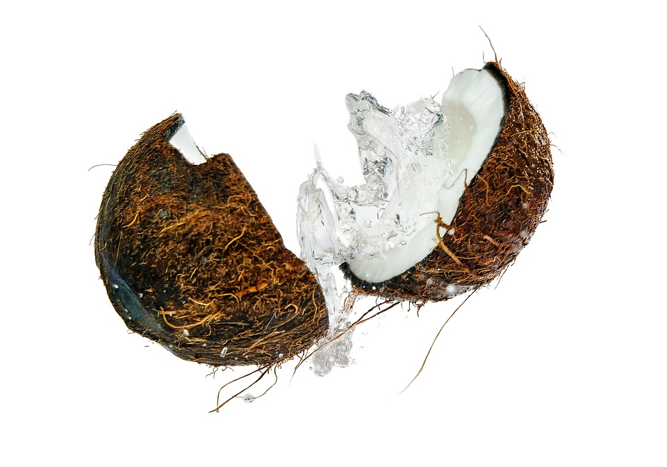 Coconut, Blast, Split, Spray, Falls, Wet, Walnut