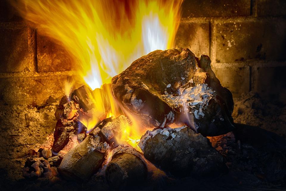 Fire, Flame, Blaze, Bonfire, Campfire, Wood, Fireplace