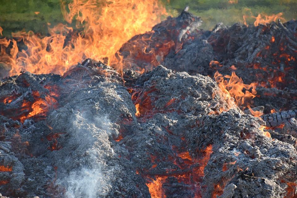 Heat, Embers, Easter Fire, Burn, Glow, Fireplace, Blaze