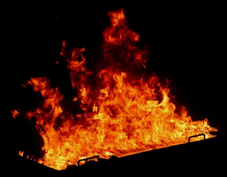 Fire, Hot, Flame, Burn, Blaze, Heat, Dangerous