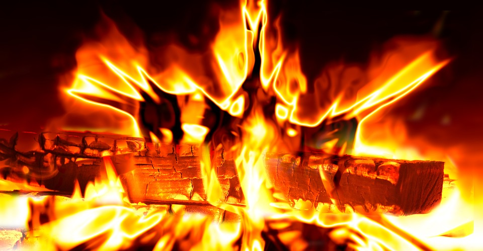 Fire, Flame, Heat, Hot, Log, Burn, Brand, Blaze, Energy